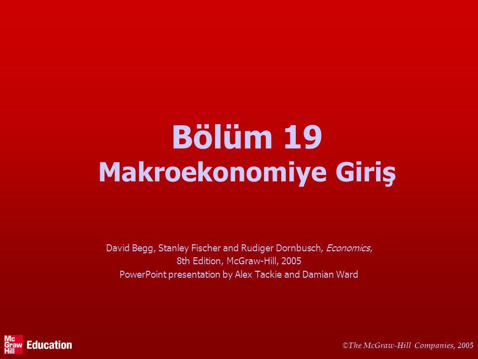 © The McGraw-Hill Companies, 2005 11 Türkiye'de İktisadi Büyüme Source: SPO