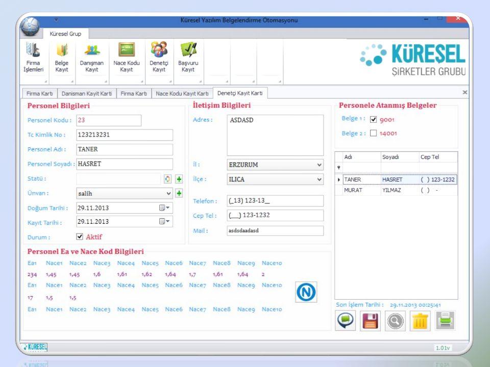 Cevizlidere Cad.No:134/A-B Balgat / ANKARA Tel: 0 312 230 30 66 Fax: 0 312 230 30 85 www.kureselyazilim.com