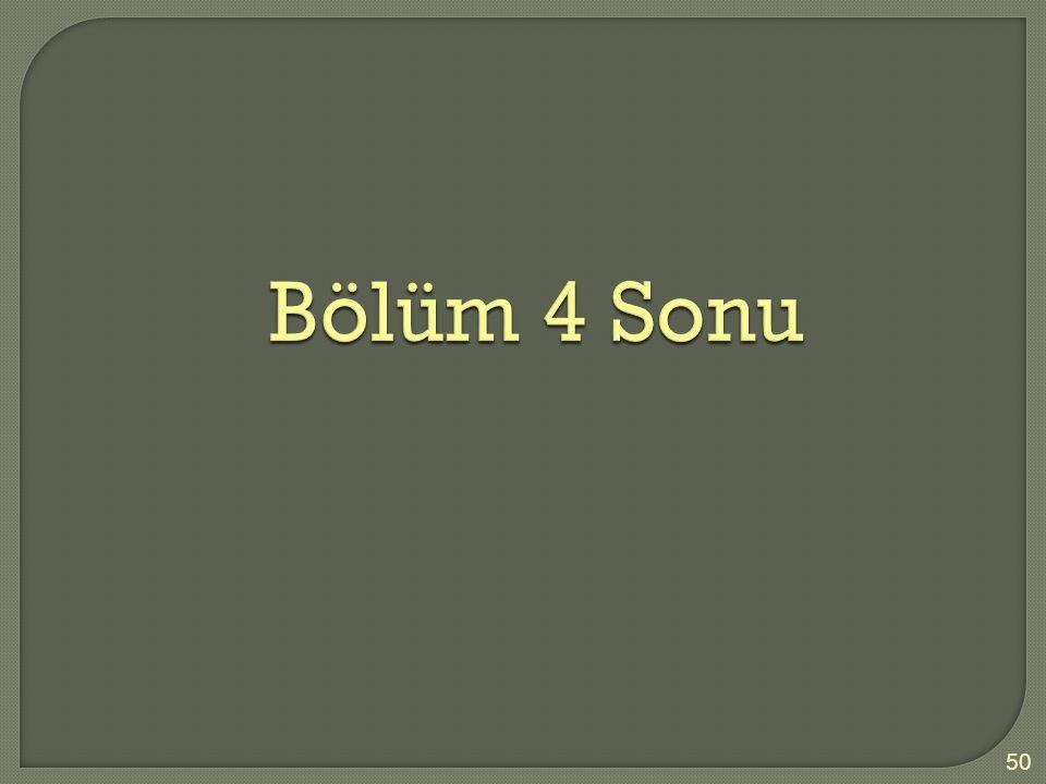 Bölüm 4 Sonu 50