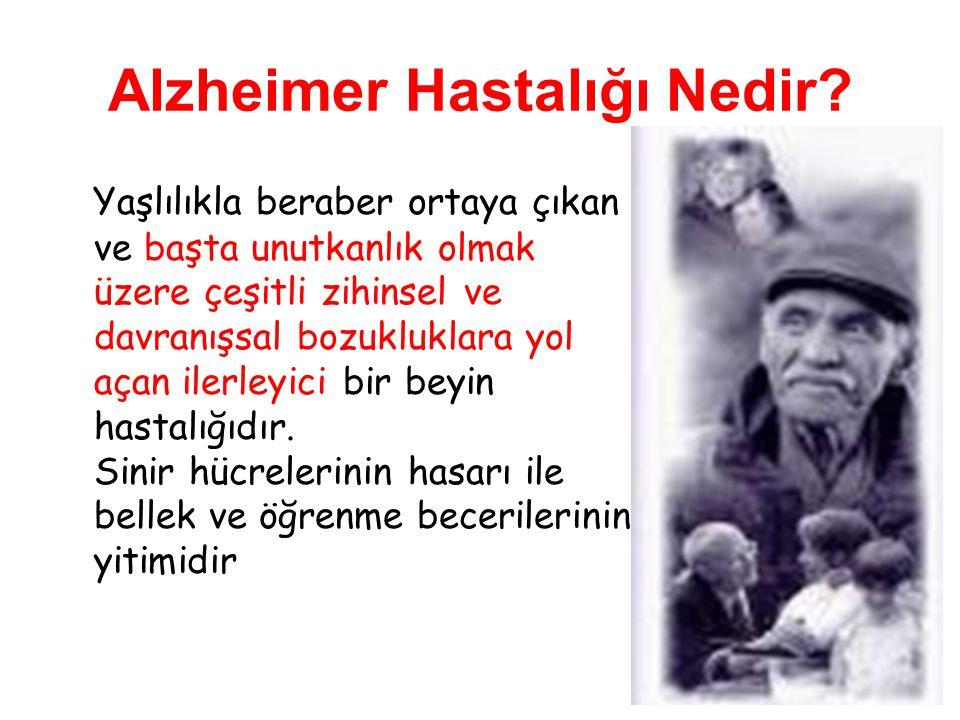 Alzheimer Hastalığı Nedir.