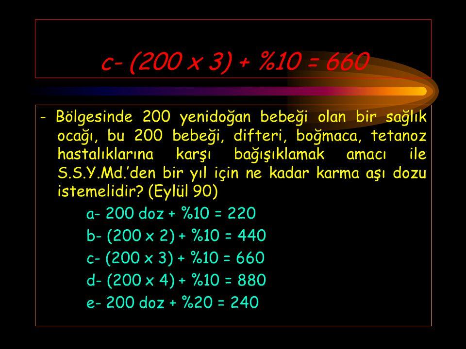 d- 10 hafta - Türkiye'de yasal abortus üst sınırı hangisidir? (Nisan 90) a- 4 hafta b- 6 hafta c- 8 hafta d- 10 hafta e- 12 hafta