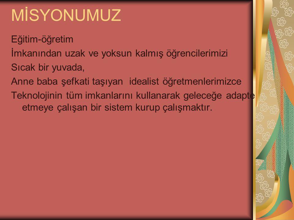 Osmancık Orgeneral Ahmet Çörekçi Y.B.O Okul Gelişimi Yönetim Ekibi M.