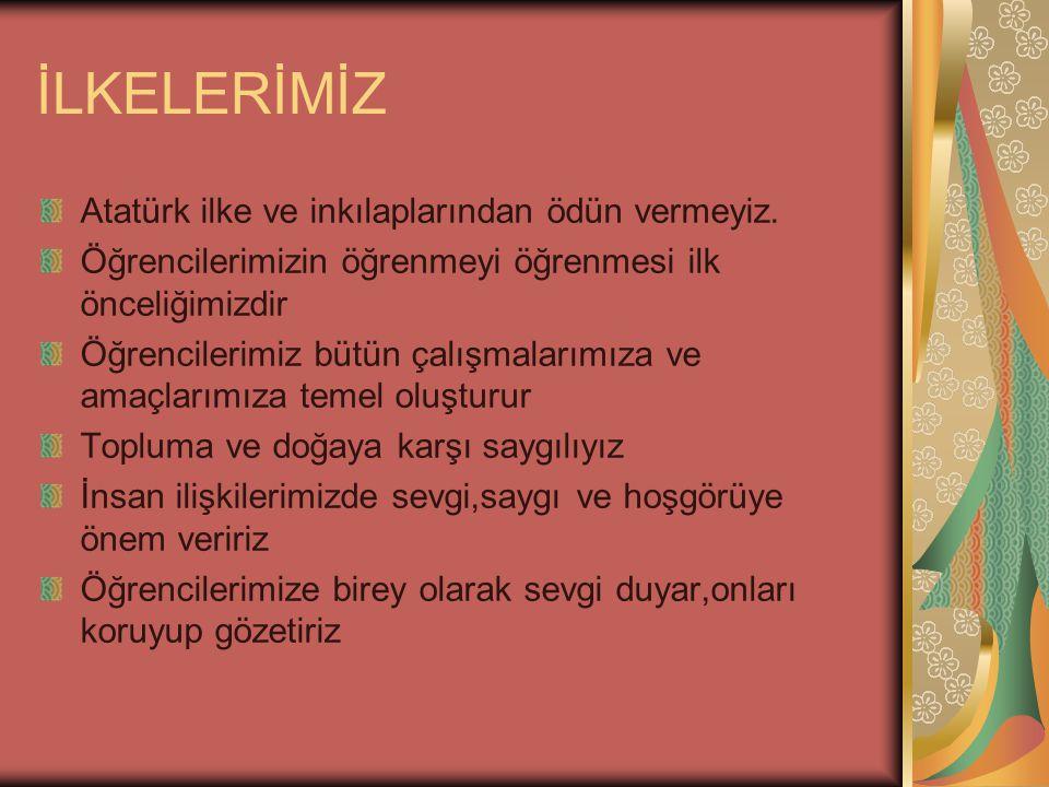 Çözüm Öneriler Her iki binaya Atatürk Köşresi yaptırılması.