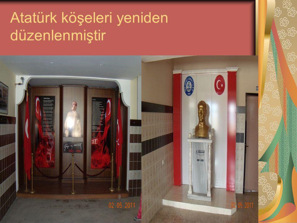 Kalebodur ustası bulunmuş maliyeti 1.200 TL Plastik doğrama 2.500 TL Atatürk Köşesi 1.500 TL Mobilya maliyeti 9.500 TL Elektrik maliyeti 300 TL Diğer