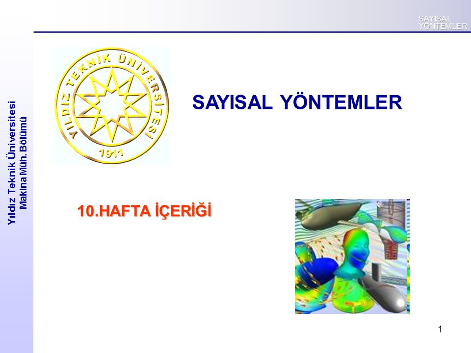 2 Yıldız Teknik Üniversitesi Makina Müh.
