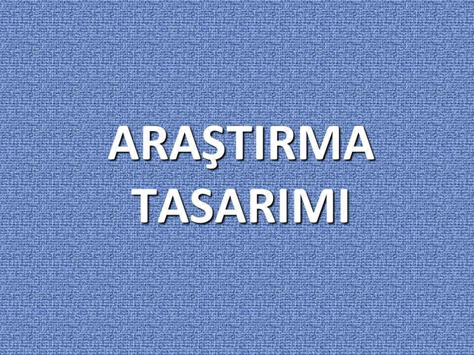 ARAŞTIRMA TASARIMI V.Araştırmanın Yöntemi 1.Kavramsal Çerçeve  İçerik olarak yoğundur.