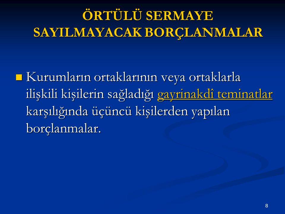 59 YÖNTEMLERİN SEÇİMİ KOŞULLARYÖNTEM 1.