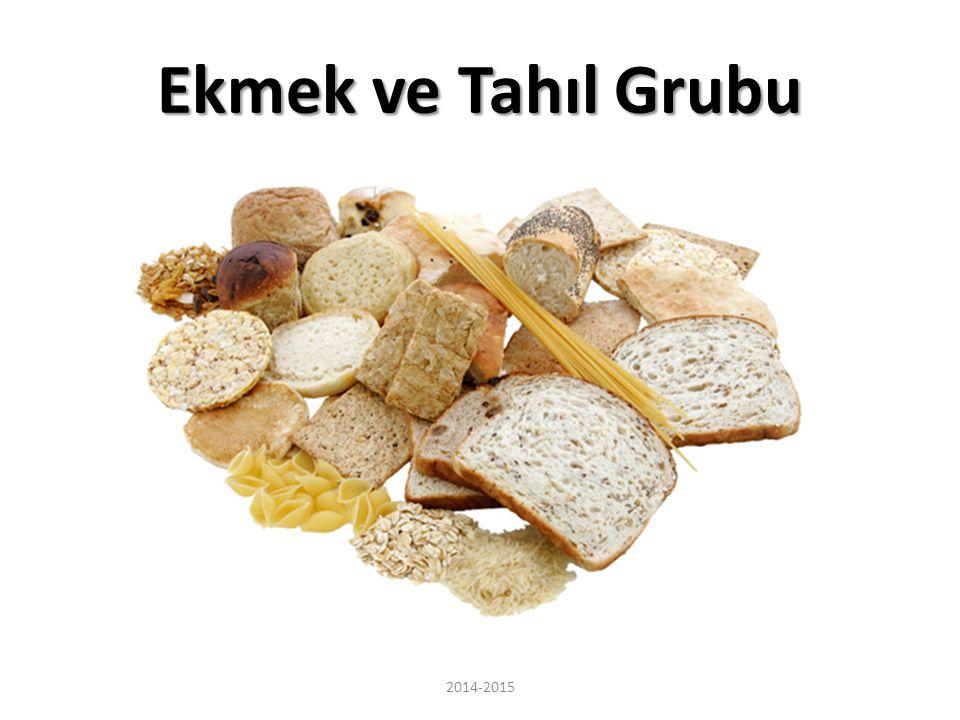 Ekmek ve Tahıl Grubu 2014-2015