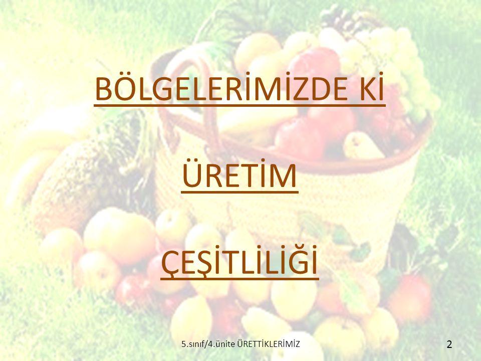  Akdeniz kıyılarındaki verimli ovalar tarım için çok uygundur.