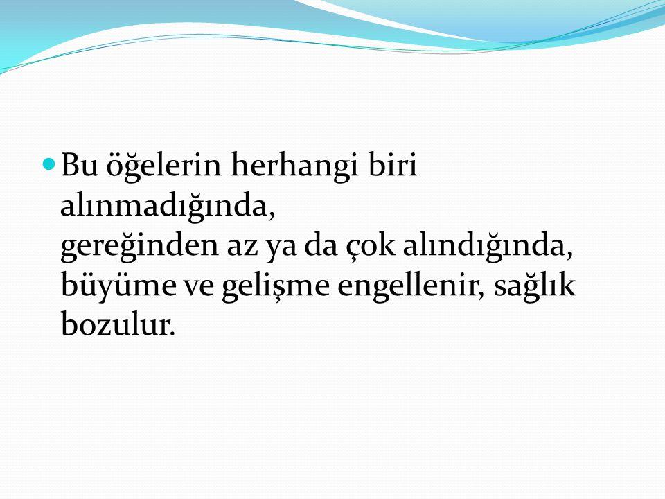DENGESİZ BESLENME NEDİR.