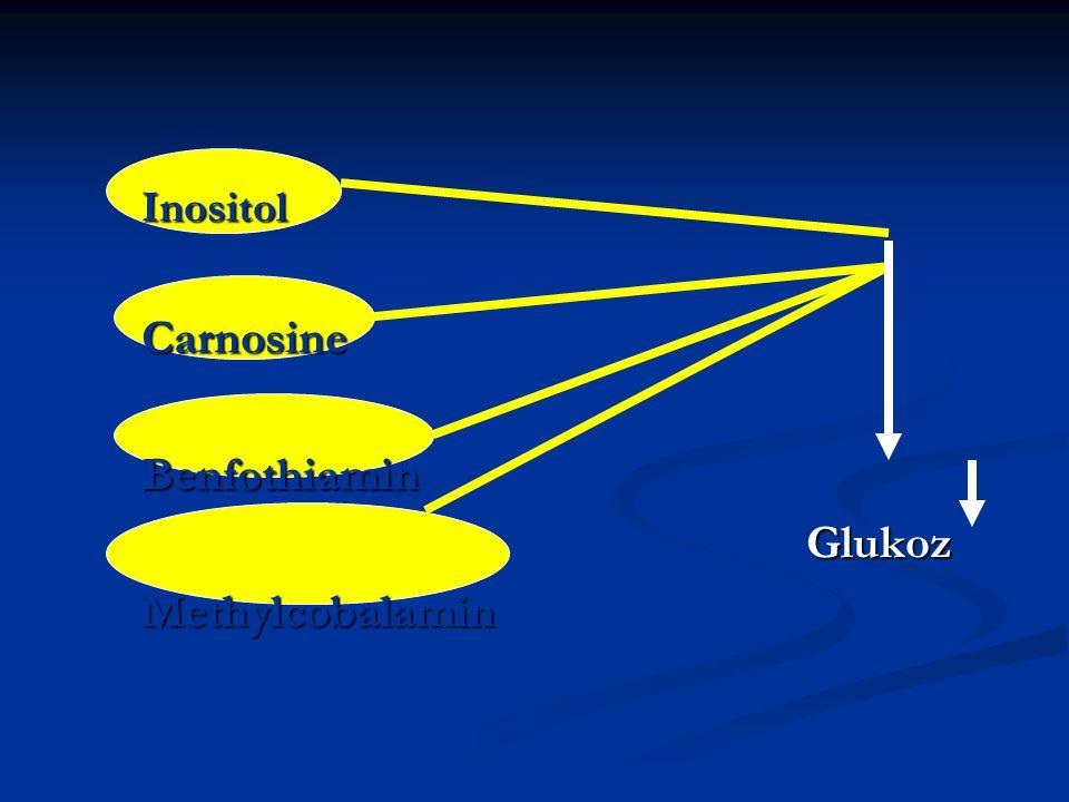 InositolCarnosineBenfothiamin Glukoz GlukozMethylcobalamin