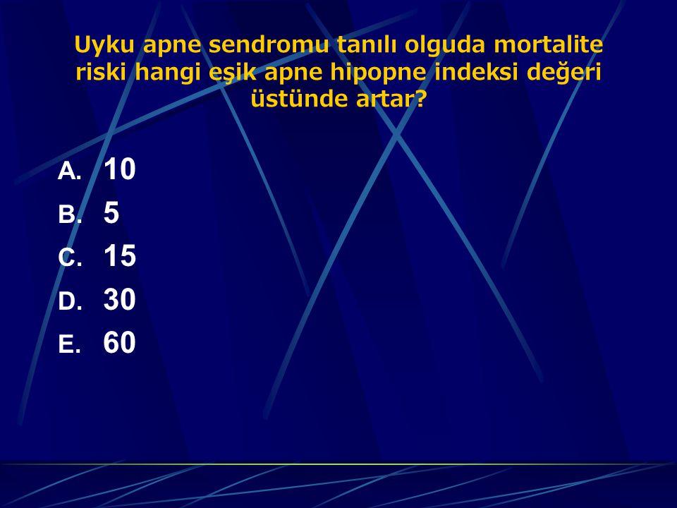 POLİSOMNOGRAFİ BULGULARI  Yüzeyel uykuda (NREM evre 1,2) artma, derin uyku (NREM evre 3,4) ve REM periyodunda azalma