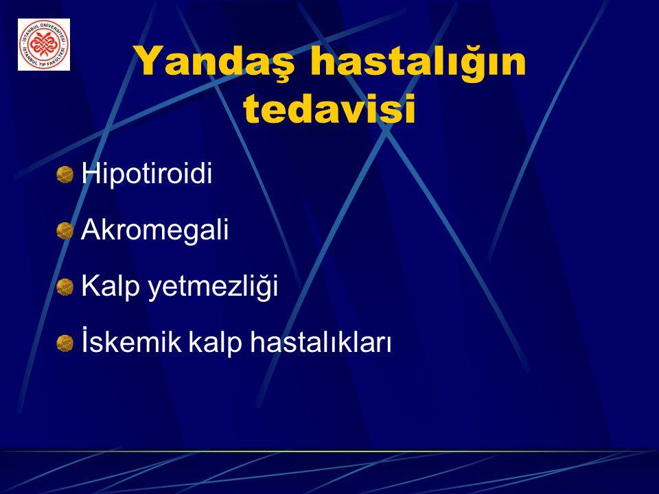 İlaç tedavisi Antidepresanlar Protriptilin Solunum merkezi uyarıcıları Medroksiprogesteron Asetozolamid Teofilin