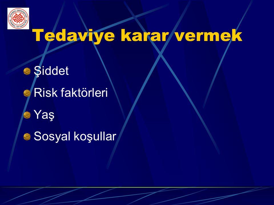 Yandaş hastalığın tedavisi Hipotiroidi Akromegali Kalp yetmezliği İskemik kalp hastalıkları