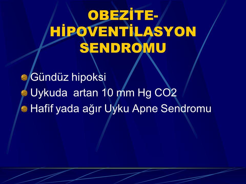 UARS POLİSOMNOGRAFİ BULGULARI  Negatif polisomnografi  Oksijen desatürasyonu yok veya hafif düzeyde  NREM evre 3, 4' de belirgin azalma  EEG' de s