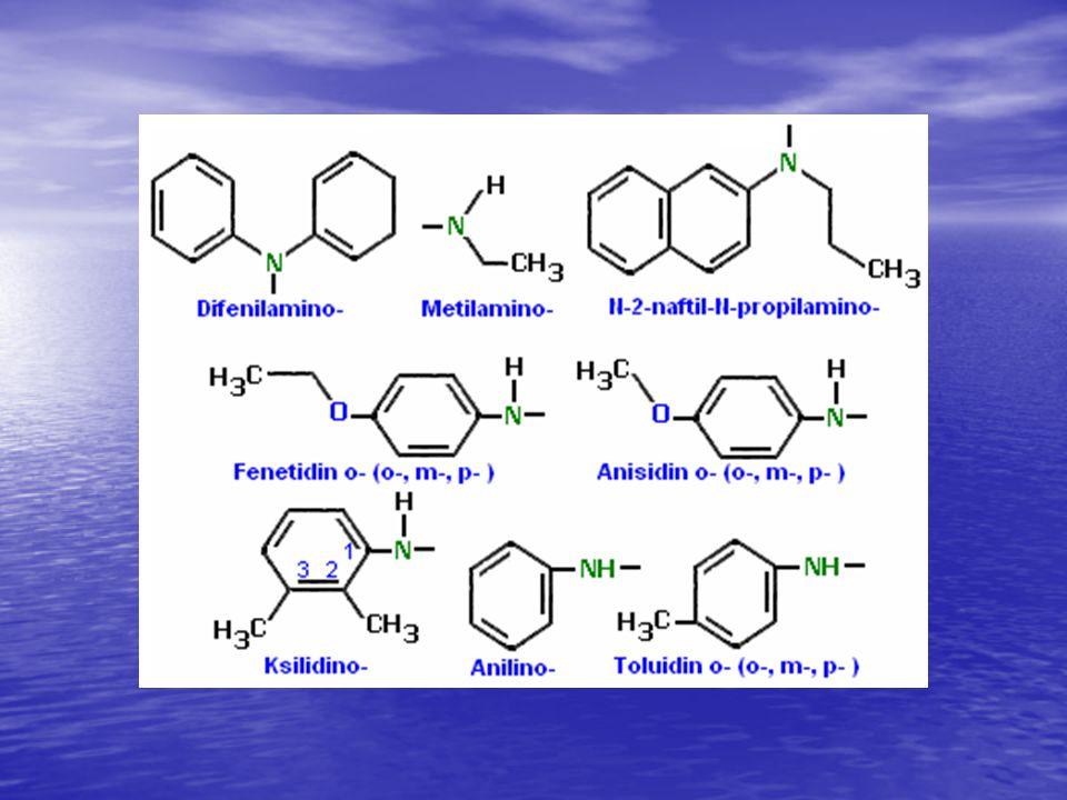 Aminlerin fiziksel ve kimyasal özellikleri: Kaynama noktaları: Primer > sekonder > tersiyer aminler Suda kolay çözünürler.