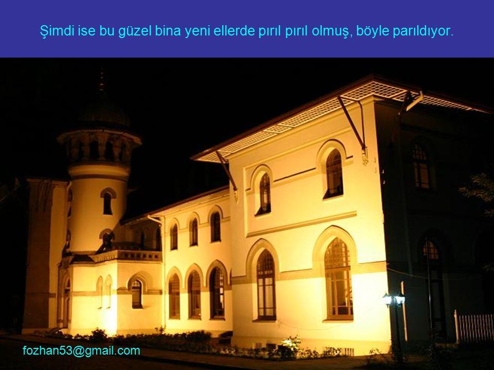 Eski Edirne Tren İstasyonu artık Trakya Üniversitesi Rektörlük binası. fozhan53@gmail.com