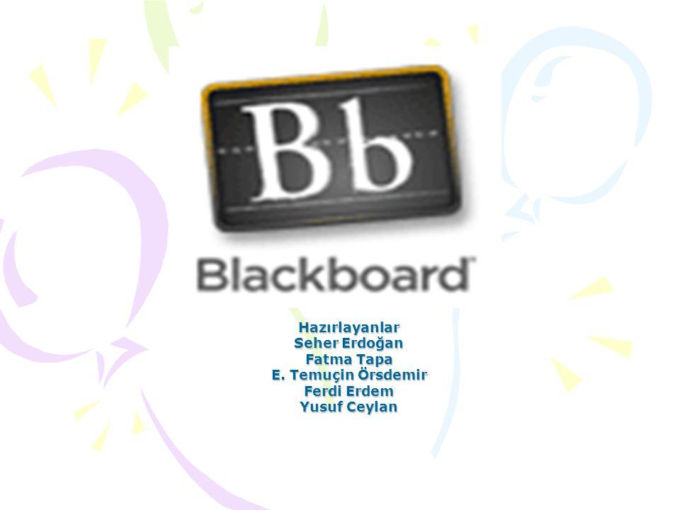 Blackboard Nedir.