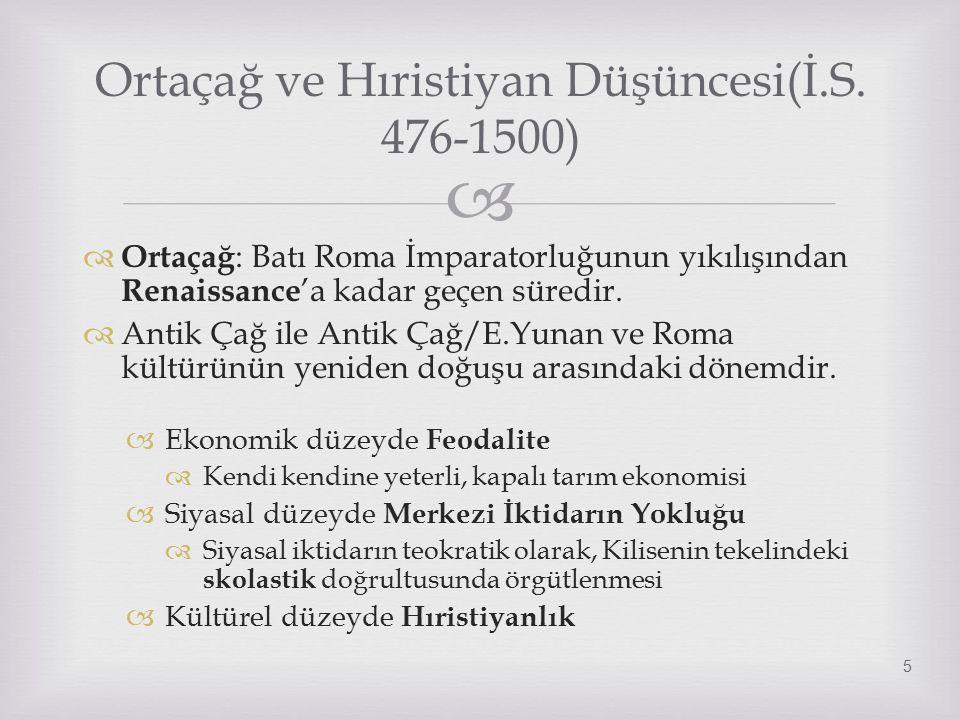   Batı Roma yıkılınca Doğu Roma İmparatoru kilise ve devletin İmparatorda bütünleşmesi öğretisi çerçevesinde Roma Kilisesi üzerinde üstünlük iddia eder.