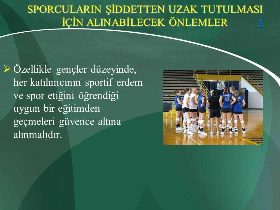 KAYNAKLAR Gürsoy Ö.Siddete Kırmızı Kart, Sunum, 2004-2008.