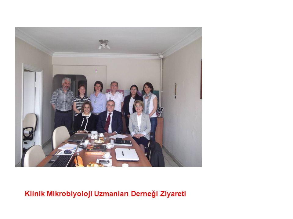 Klinik Mikrobiyoloji Uzmanları Derneği Ziyareti