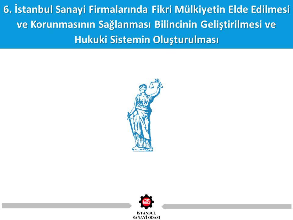 6. İstanbul Sanayi Firmalarında Fikri Mülkiyetin Elde Edilmesi ve Korunmasının Sağlanması Bilincinin Geliştirilmesi ve Hukuki Sistemin Oluşturulması