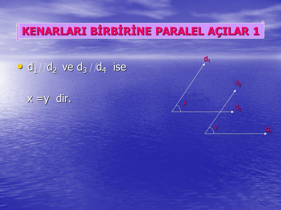 126 0 lik açının bütünleyeni olan açı 54 0 dir. 126 0 lik açının bütünleyeni olan açı 54 0 dir. 180-3y ile 54 lik açılar iç ters açılar olup eşittirle