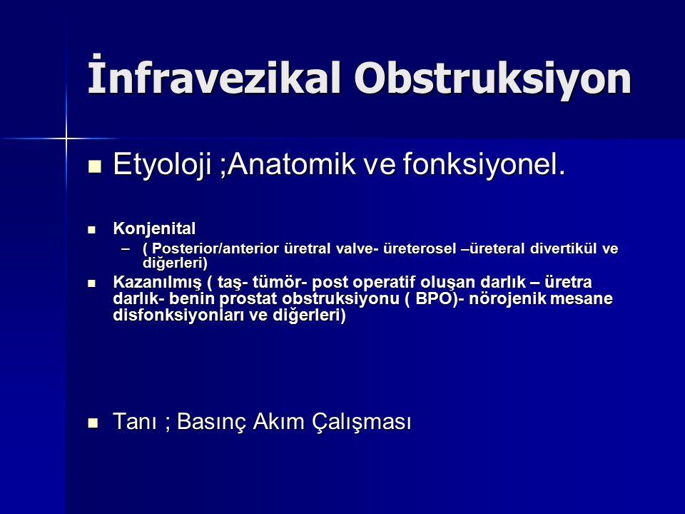 Etyoloji ;Anatomik ve fonksiyonel.Etyoloji ;Anatomik ve fonksiyonel.