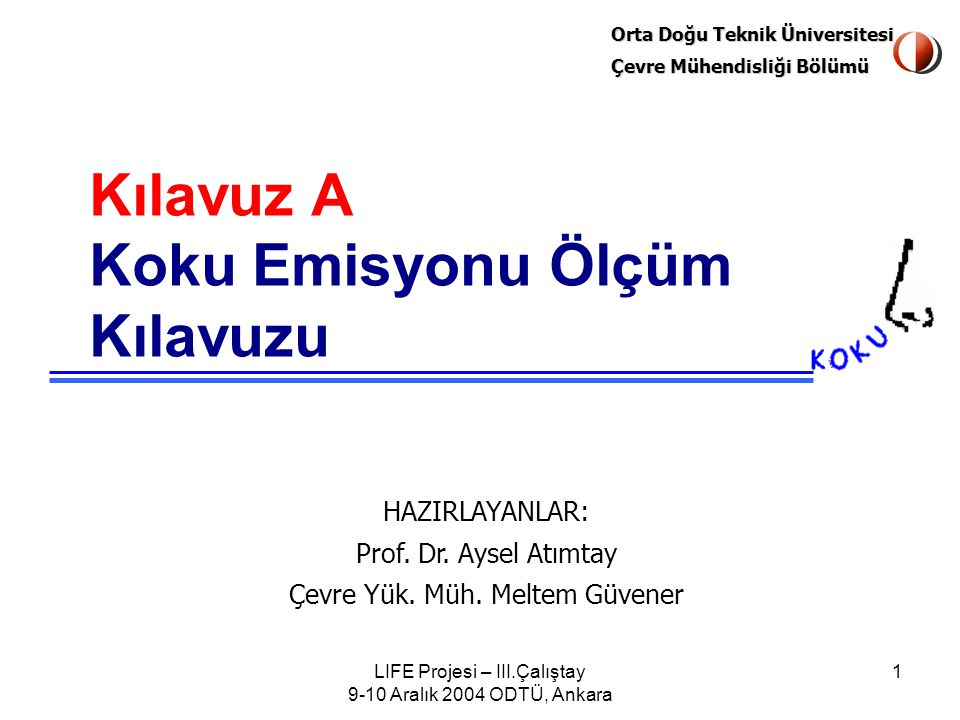 LIFE Projesi – III.Çalıştay 9-10 Aralık 2004 ODTÜ, Ankara 42 Cam ve Kaya Yünü Üretimi EndüstriÜniteKB/m 3 dB ± std.