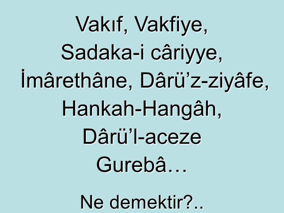 Bitlis'te Hüsrev Paşa Vakfı nın 996 H.