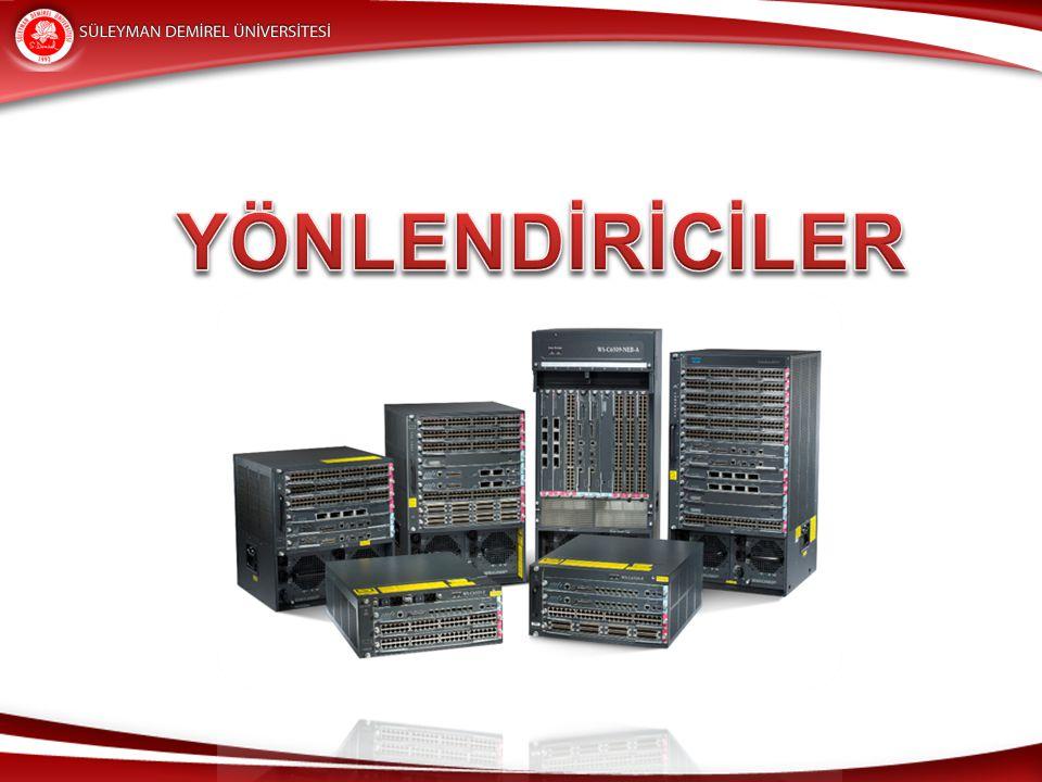 Kenar Yönlendiriciler Kenar yönlendiriciler ise geniş alan ağlarına yerel trafiğin aktarılması için kullanılır.
