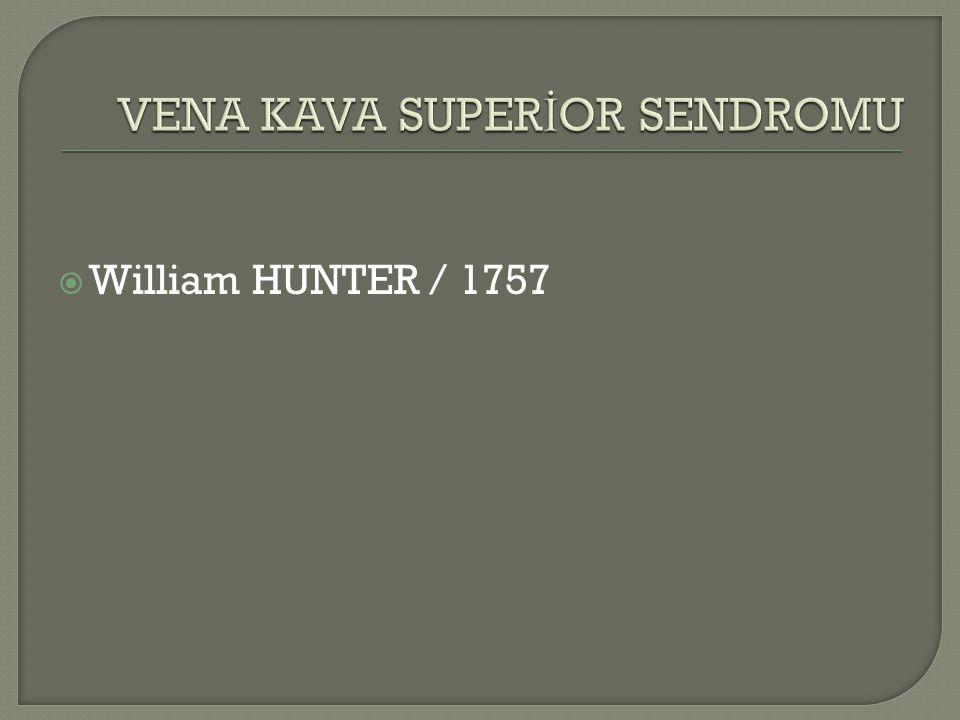  William HUNTER / 1757