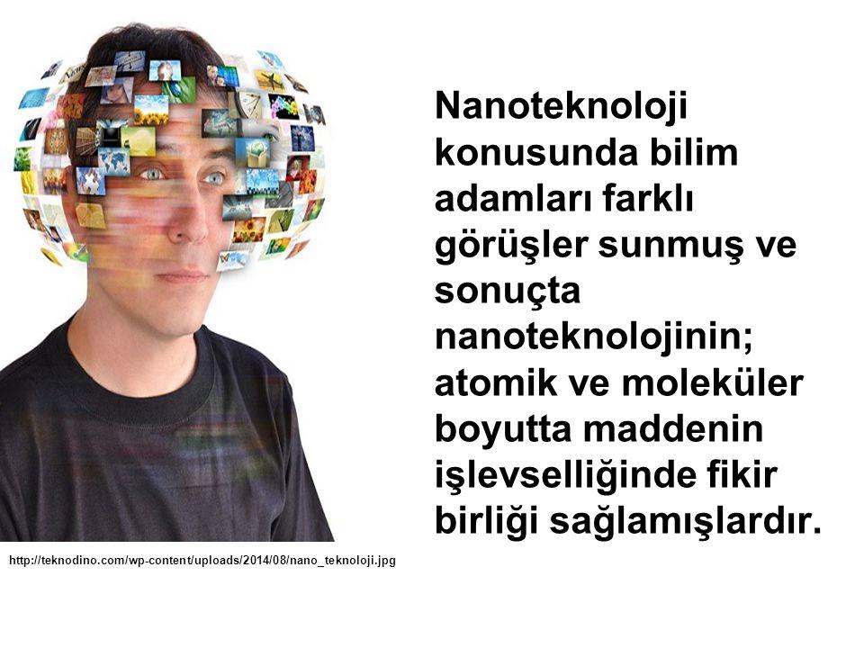 Nanoteknoloji konusunda bilim adamları farklı görüşler sunmuş ve sonuçta nanoteknolojinin; atomik ve moleküler boyutta maddenin işlevselliğinde fikir birliği sağlamışlardır.