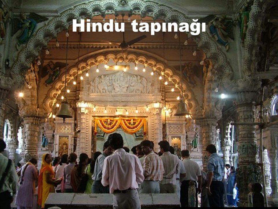 Hindu dini  1 milyar inanan  Dünya nüfusunun %14,6 sı  Uygulandığı yerler:  Hindistan  Népal  Bengaldeş