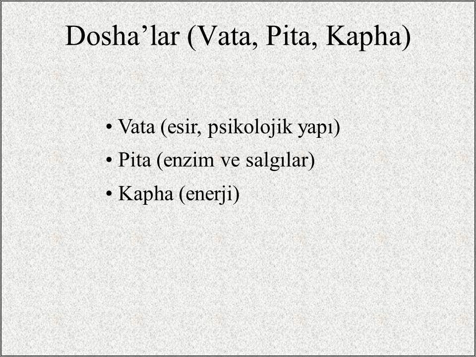 Pancha Karma: Beş İşlem Vamana: Kapha toksinlerini vücuttan atmak için özel bir kusturma yöntemi.