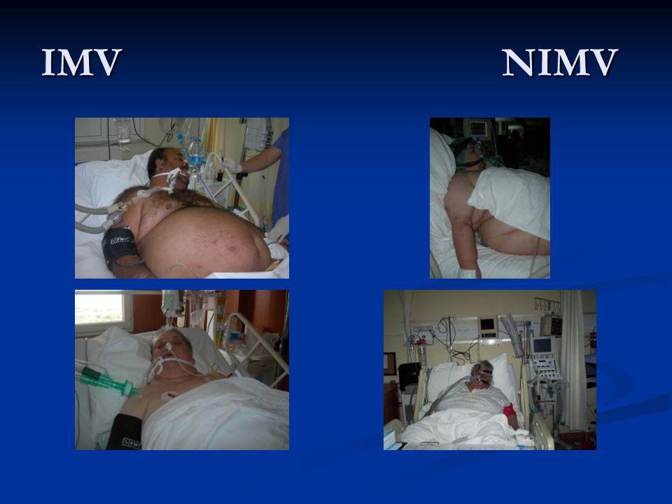 NM hastalarda NIMV ayarları Soluk ve volüm garantili, basınç destekli; oro-nazal maske ile NIMV.