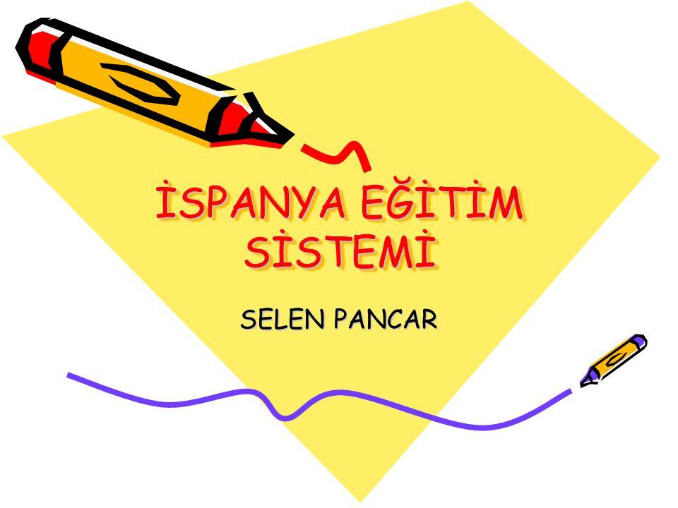 Eğitim Sisteminin Yapılanması Yönetsel Yapılanma İspanya eğitim sisteminde kamu eğitim kuruluşlarının yapısını 1995 Eğitim Kurumlarının Yönetimi, Değerlendirilmesi ve Katılım Organik Yasası(LOPEG) düzenlemektedir.