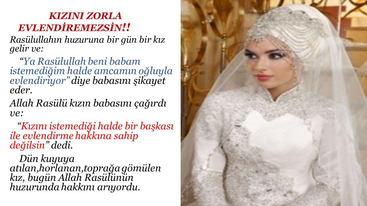 HATİCE'DEN DAHA HAYIRLISI YOKTUR..