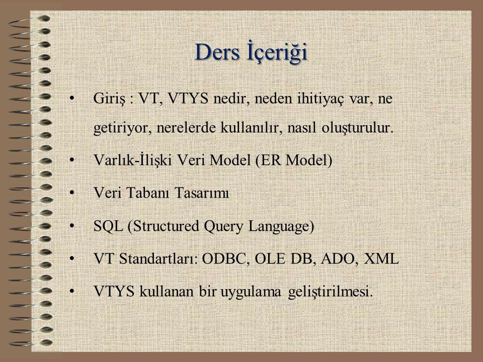 VTYS Giriş