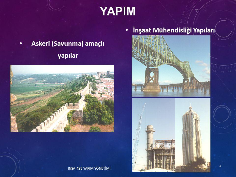a) Amaç: Kabul edilmiş maliyet ve zaman sınırları içinde ve belirlenen kalitede yapının inşaatının gerçekleştirilmesi.