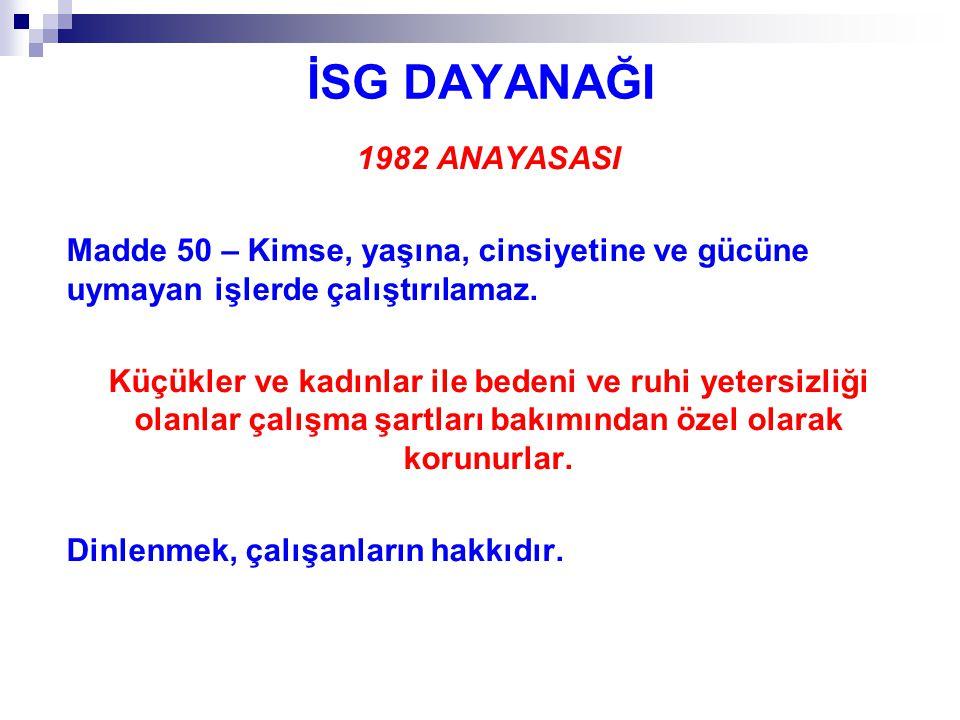 İŞ KAZASI KAVRAMI İş kazası, 6331 sayılı Kanunda, 5510 sayılı Kanundan farklı şekilde tanımlanmıştır.