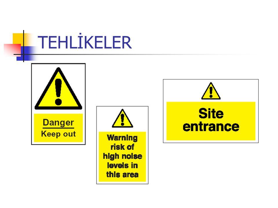 Yerini değiştirme Herhangi bir güvenlik işaretini veya bariyeri sökmek veya yerini değiştirmek suçtur.