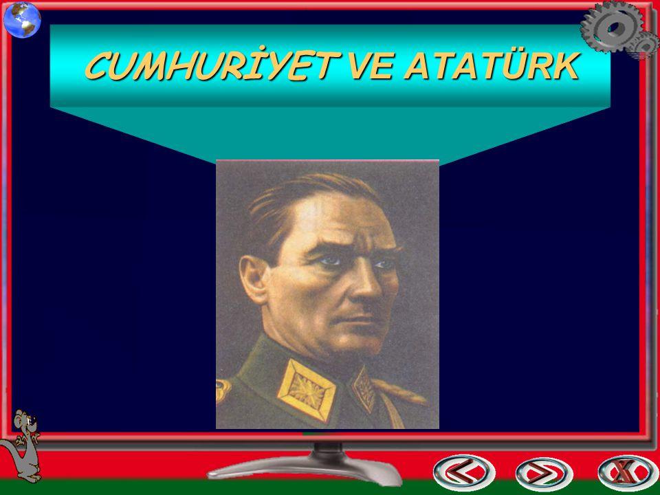 Cumhuriyet Bayramı ve Atatürk Niçin Niçin Bayram Yapıyoruz .