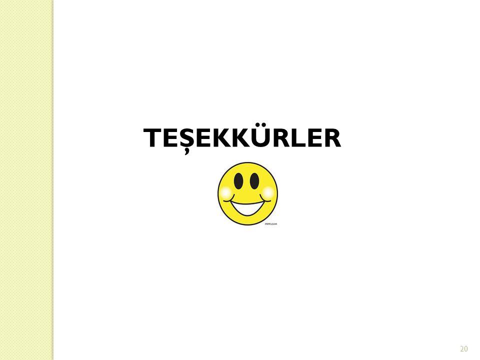 TEŞEKKÜRLER 20