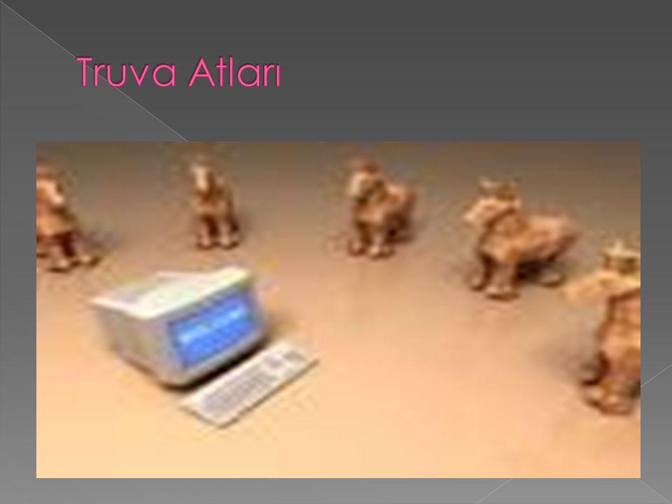  Trojan kurban ının tahmin etmediği bir şekilde ve isteği olmaksızın, gizli ve genellikle kötü amaçlı bir faaliyette bulunan bir programdır.