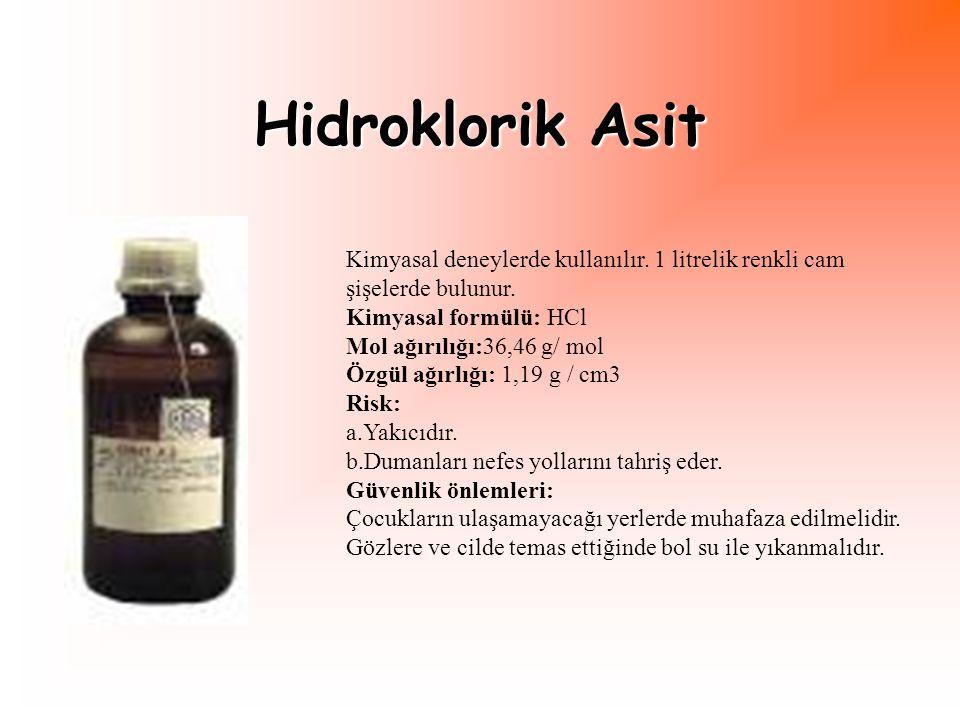 İspirto Isı gerektiren deneylerde ispirto ocağına yakıt olarak kullanılır.