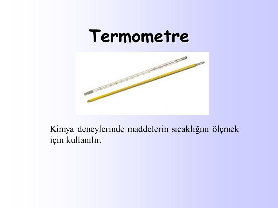 Turnusol Kağıdı Kimya deneylerinde asit- baz ayıracı olarak kullanılır.