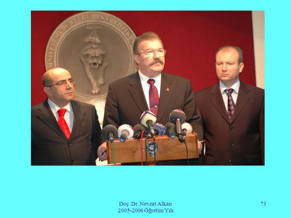 Doç. Dr. Nevzat Alkan 2005-2006 Öğretim Yılı 73