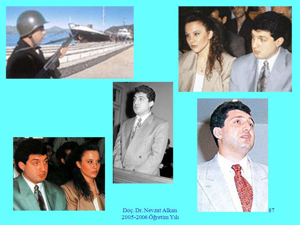 Doç. Dr. Nevzat Alkan 2005-2006 Öğretim Yılı 87