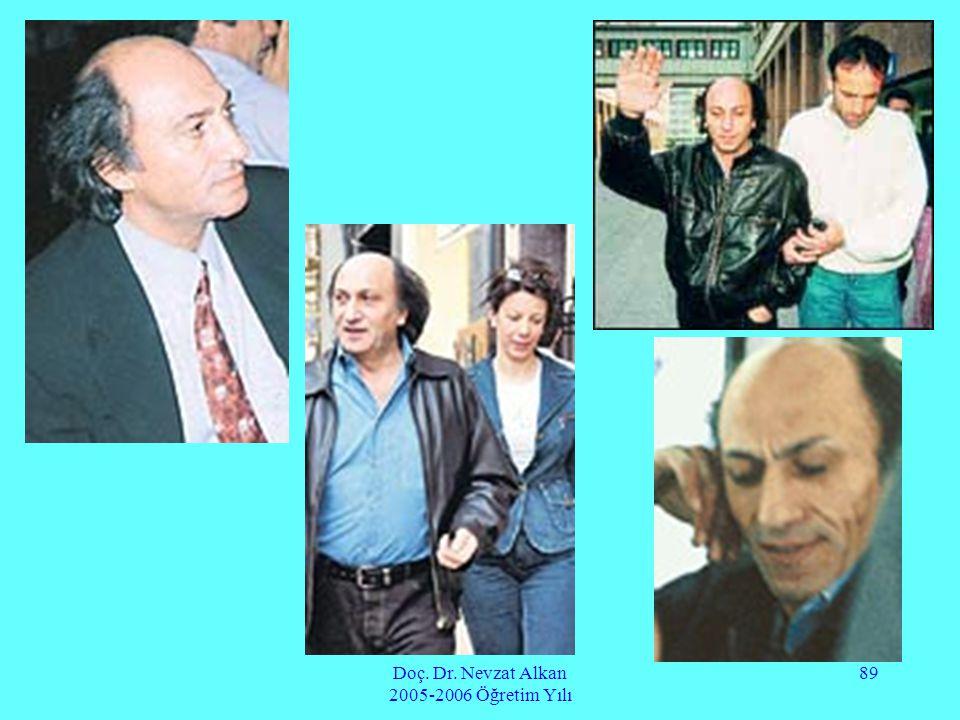 Doç. Dr. Nevzat Alkan 2005-2006 Öğretim Yılı 89